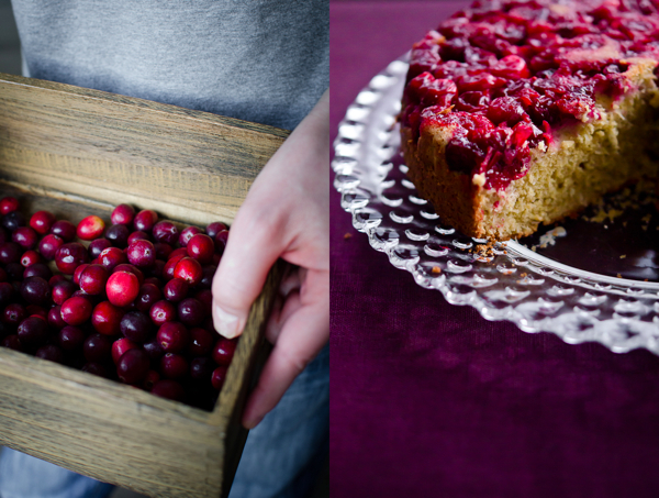 Cranberries and Upside Down Cake | At Down Under | Viviane Perenyi