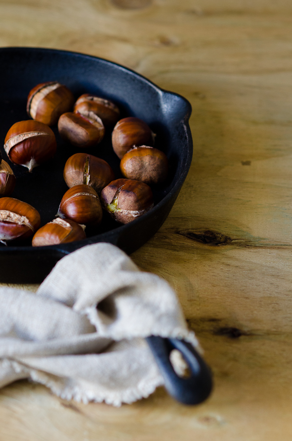 Roasted Chestnuts | At Down Under | Viviane Perenyi