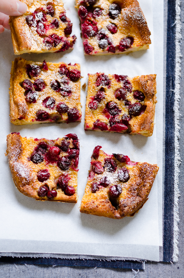 Cranberry Clafoutis | At Down Under | Viviane Perenyi