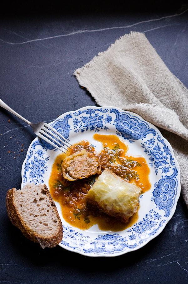 Hungarian Cabbage Rolls | At Down Under | Viviane Perenyi