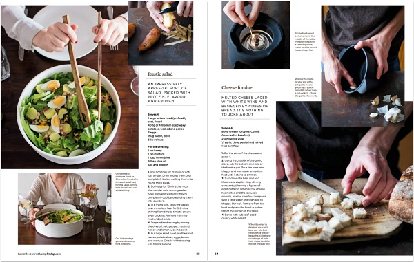 Viviane Perenyi for The Simple Things Issue 19 Rustic Salad
